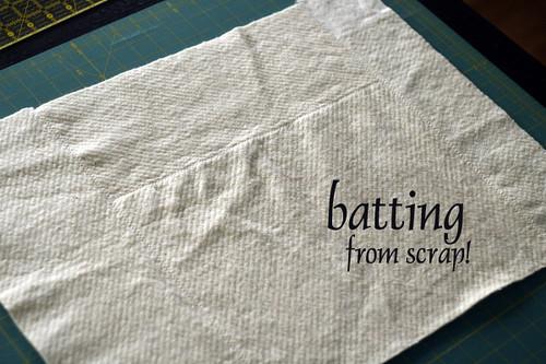 batting scrap