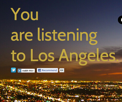 You Are listening to Los Angeles