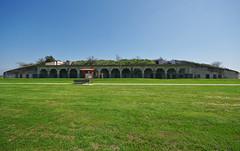 Fort Travis gun emplacement