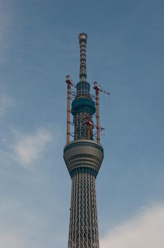 Tokyo Sky tree top