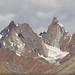 Mountain ridges along the upper Suru Valley.  Ladakh