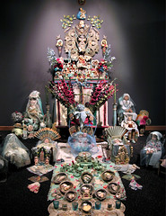 """Laurie Zuckerman Loveland Museum """"Forget-me-not"""" Altar Installatio (Laurie Beth Zuckerman Home Altar Installations) Tags: copyright home by is photo or email altar access to laurie purchase restricted permission 2012 zuckerman lauriebethzuckermangmailcom"""