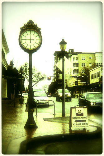 Old Bellevue Clock