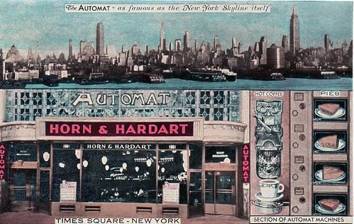 Horn & Hardart Automat Postcard