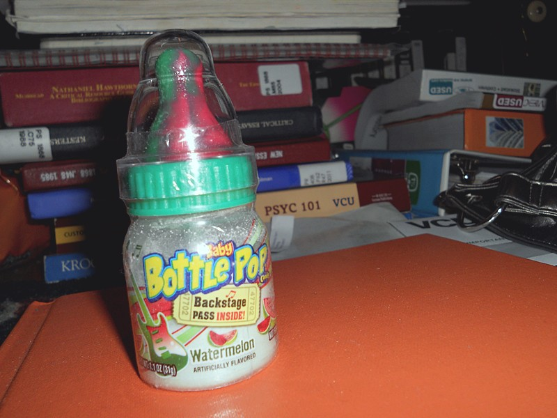 O31O2O11: baby bottle pop!