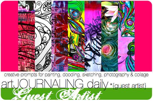 artJOURNALING daily guest artist