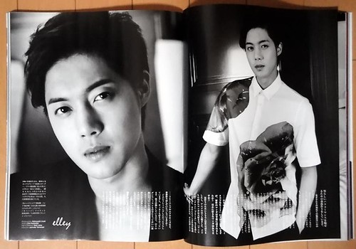 Kim Hyun Joong Vogue Hommes Japan Magazine Vol.6
