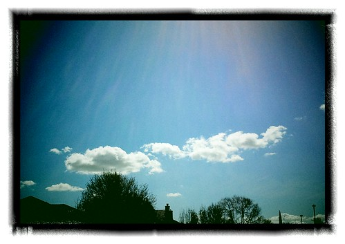 Lunchtime sky
