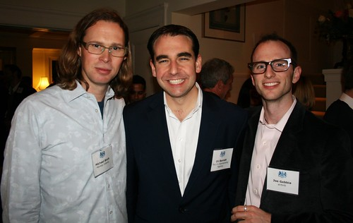 Michael Birch, Oli Barrett, Joe Gebbia