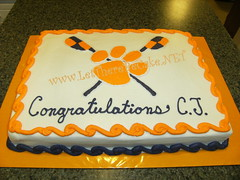 clemson rowing club (Lisa @ Let There Be Cake!) Tags: cake graduation celebration congratulation retirement charlestonsc hanahansc northcharlestonsc lettherebecake lisasargent lisasergent lisaseargent