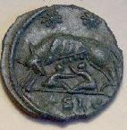Mudlark coin find