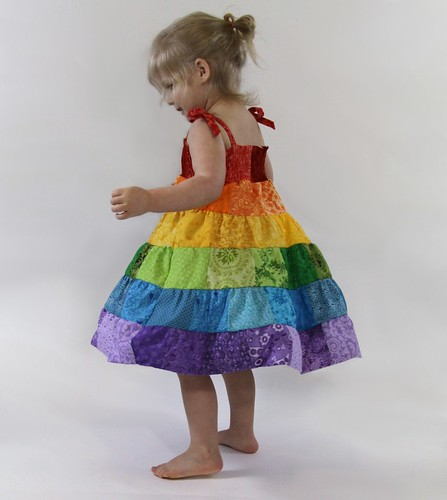 Rainbow Girls Twirl Sundress Boutique