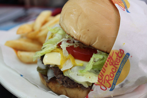 The Original with Cheese at Johnny Rockets