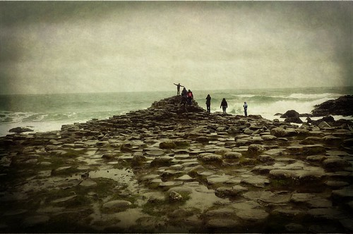 The Giant's Causeway on a Rainy Afternoon II