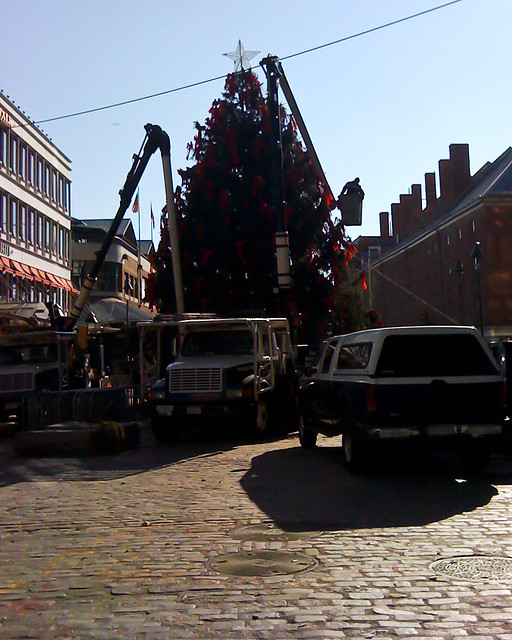South Street Seaport Christmas Tree