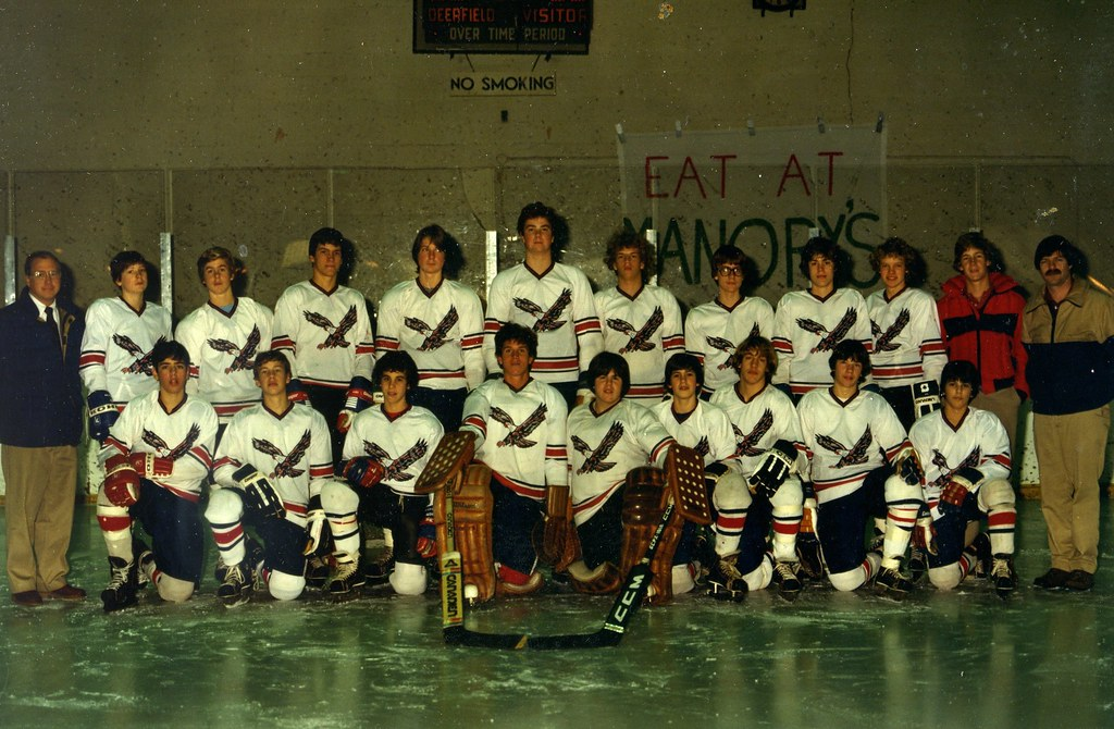 Winter 1981-82 Varsity Hockey Team.