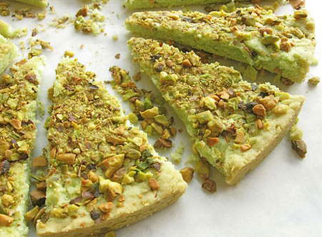 Pistachio Shortbread Cookies | Fun and Food Cafe