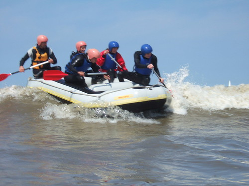 Rick Daman Kanoschool.nl - Powerboat Scheveningen