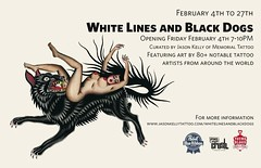 White Lines & Black Dogs