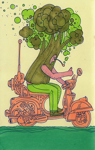 pink pipe brocco scoot