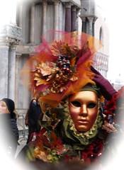 orange (Saretta-9) Tags: venice portrait people italy orange sara italia colours olympus venezia ritratto piazzasanmarco volti veneto 2011 e400 carnevalecarnival