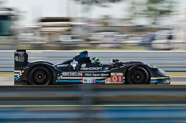 Sebring 2011 - ALMS / ILMC Practice & Qualify - Highcroft Racing HPD ARX-01e