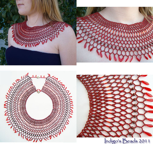 Wrapped in red by Indigo Beads