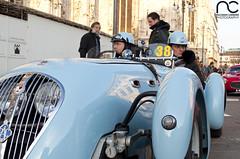 Healey Silverstone D27 1949 (3) (RC Squadra Corse) Tags: auto italy classic cup car square nikon italia azure 9 historic silverstone piazza duomo 9th azzurro macchina 1949 healey sanremo nona classico coppa d90 sotrico d27