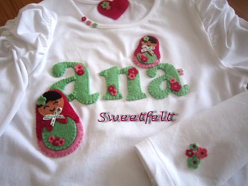 ♥♥♥ Para a Ana ... by sweetfelt \ ideias em feltro