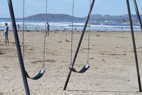 swingset-on-pismo-beach