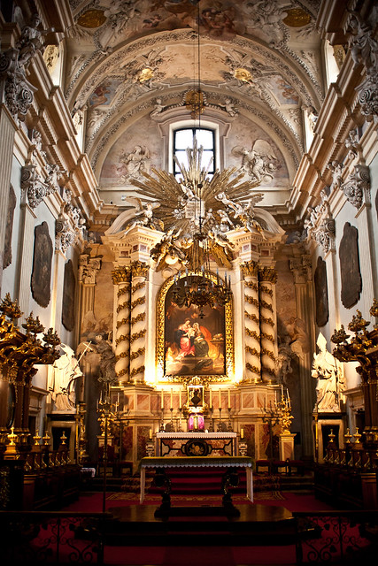 kościół ołtarz Kraków