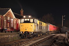 31206, Rushden, 30 Jan 2010 (Mr Joseph Bloggs) Tags: museum transport class 31 rushden 31206