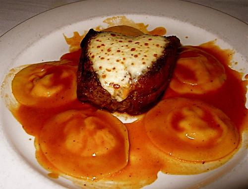 steak & ravioli