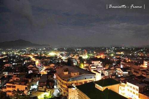Manado City At Night