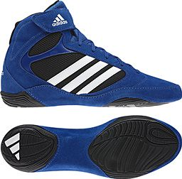 adidas Royal Blue wrestling shoes