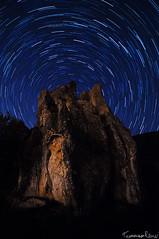 The Big Monolith (Tommaso Renzi) Tags: star nikon long exposure tommaso roccia monolith startrails stelle renzi monolite carsic carsica camposoriano d300s tommyrave