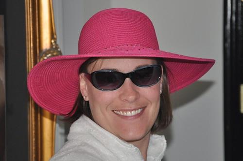 Julie's new hat