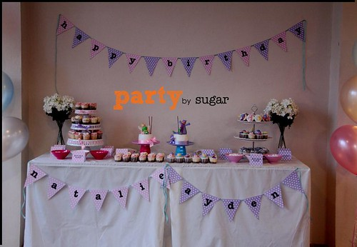 pink & purple theme party13