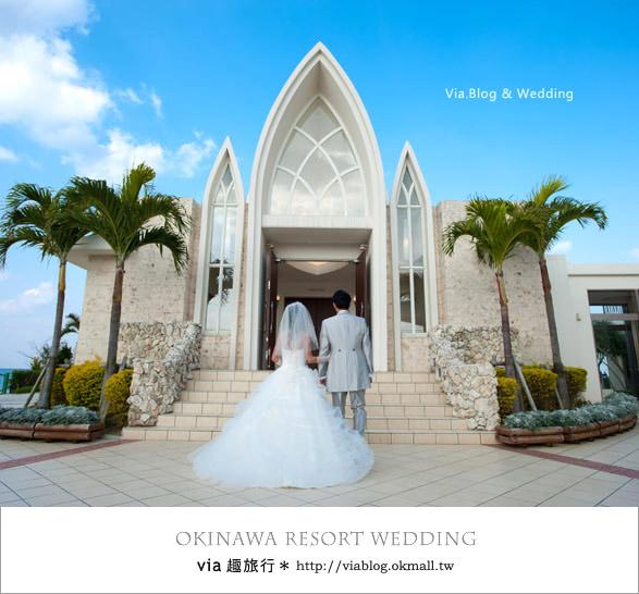 【沖繩旅遊】浪漫至極!Via的沖繩婚紗拍攝體驗全記錄!9