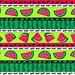 Watermelon Fiesta Stripe