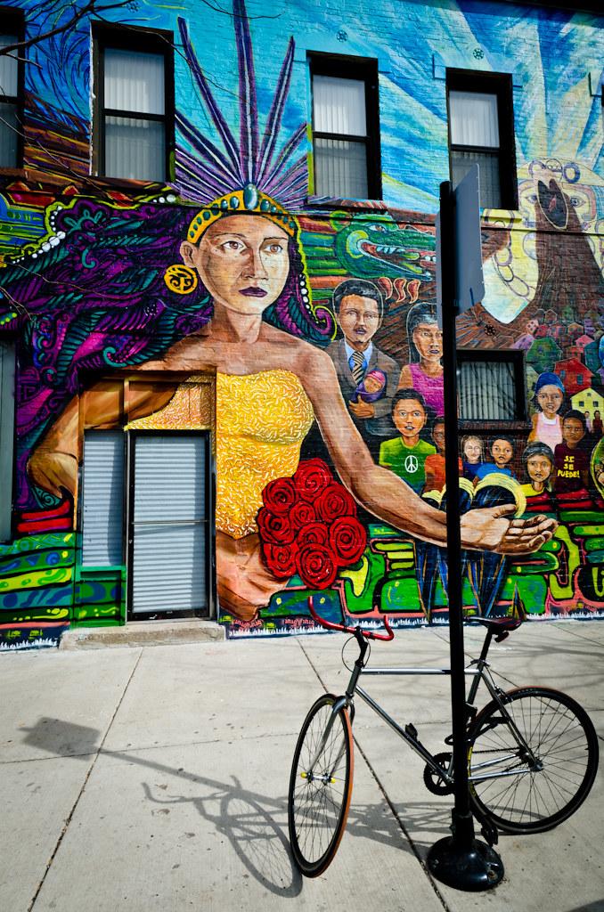 Street Mural on 19th Street
