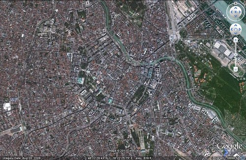 Vienna, Austria (via Google Earth)