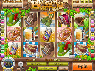 Roll out the Barrels slot game online review
