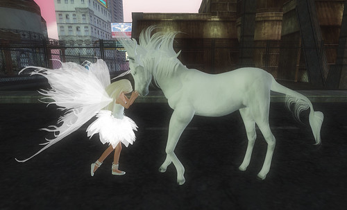 fairy meets unicorn