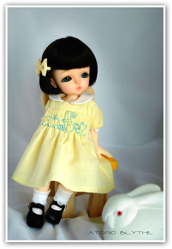 Lati SP in Bunnies Smocked Frock