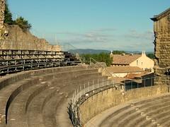Orange amphitheatre, France (Loreta S) Tags: sea sky panorama france mountains alps cemetery switzerland nice mediterranean cows mosaic chalet cypress lucerne karlovyvary amphiteatre