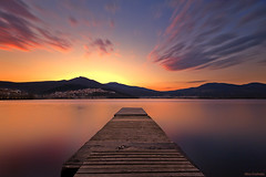 - Nautical Club of Kastoria - Greece (Nick-K (Nikos Koutoulas)) Tags: lake greek nikon nikos greece f4 hoya nickk kastoria nd400 1635mm   omilos  d700 nautikos     koutoulas