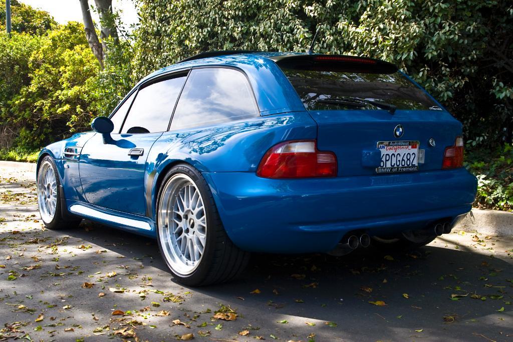 2001 M Coupe Laguna Seca Blue Laguna Seca Blue Black