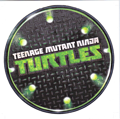 "Nickelodeon TMNT Fan Preview; ""FOUR BROTHERS PIZZA"" // 'THANK YOU' CARD i (( 2011 ))"