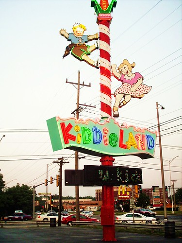 Kiddieland Amusement Park. (Gone.)  Melrose Park Illinois USA. July 2006. by Eddie from Chicago